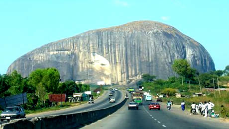 Zuma Rock Abuja Nigeria