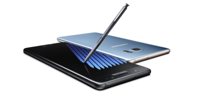 New Galaxy Note7 by Samsung