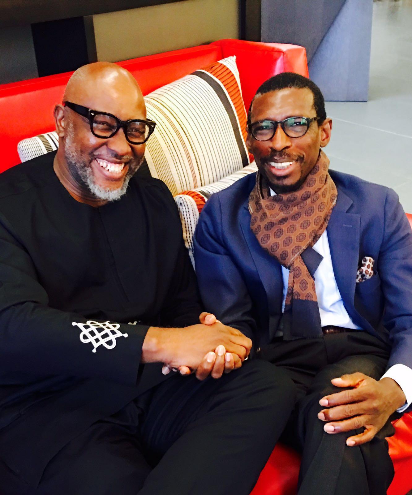 Ade Adefeko with Paul Andrew