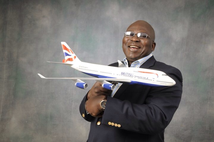 British Airways Regional Commercial Manager, West Africa, Kola Olayinka