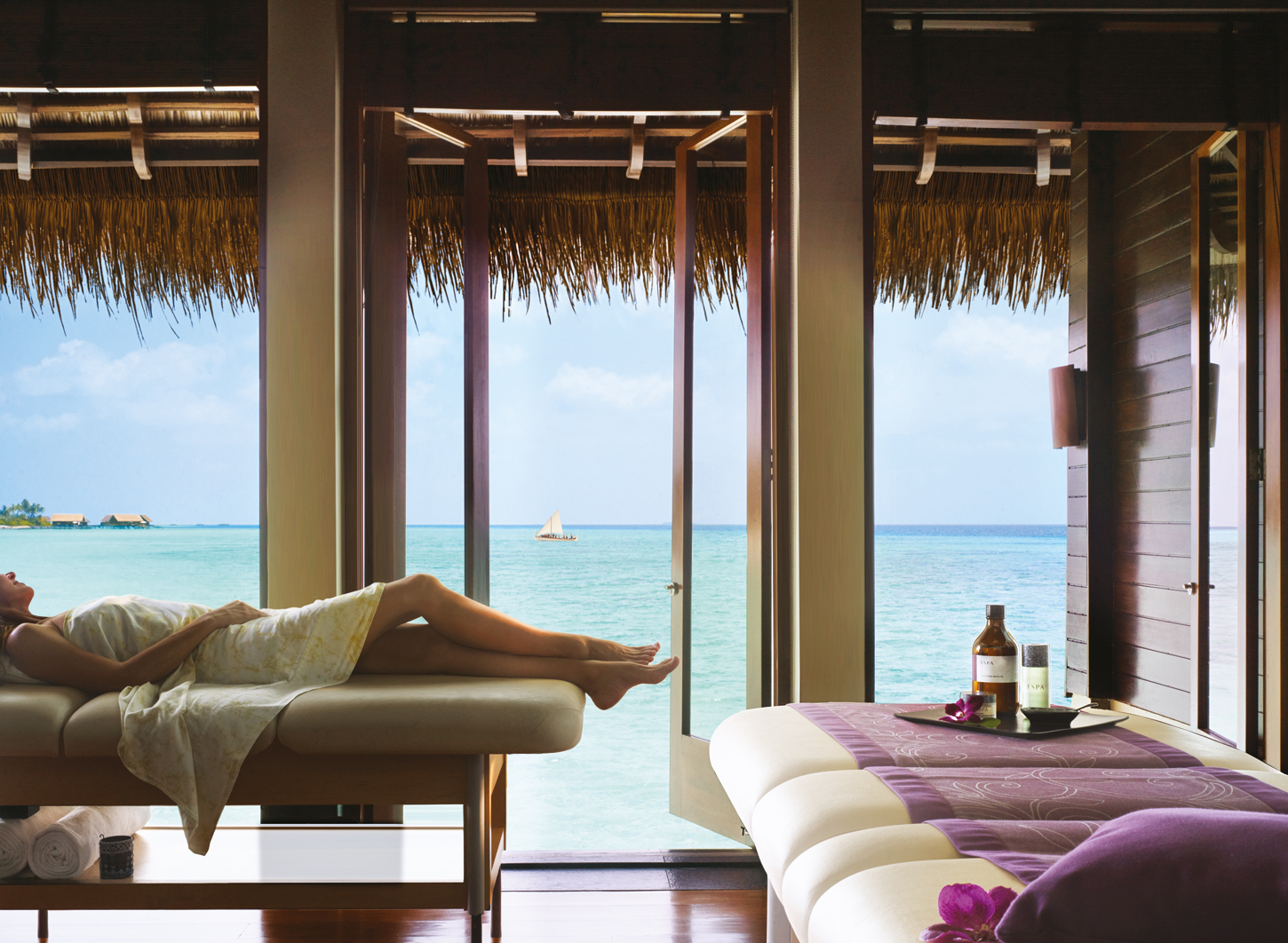 One&Only Reethirah Maldives spa