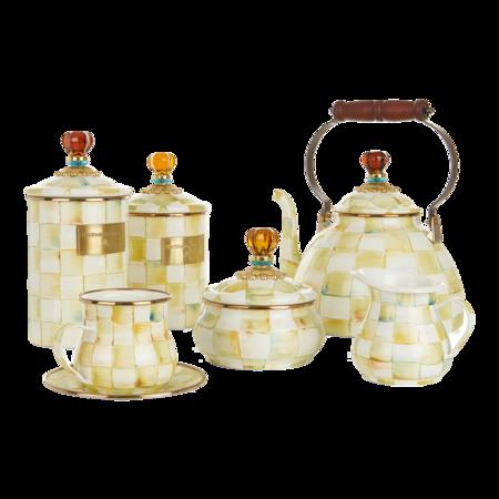 MacKenzie Childs Hand-painted Tea Set
