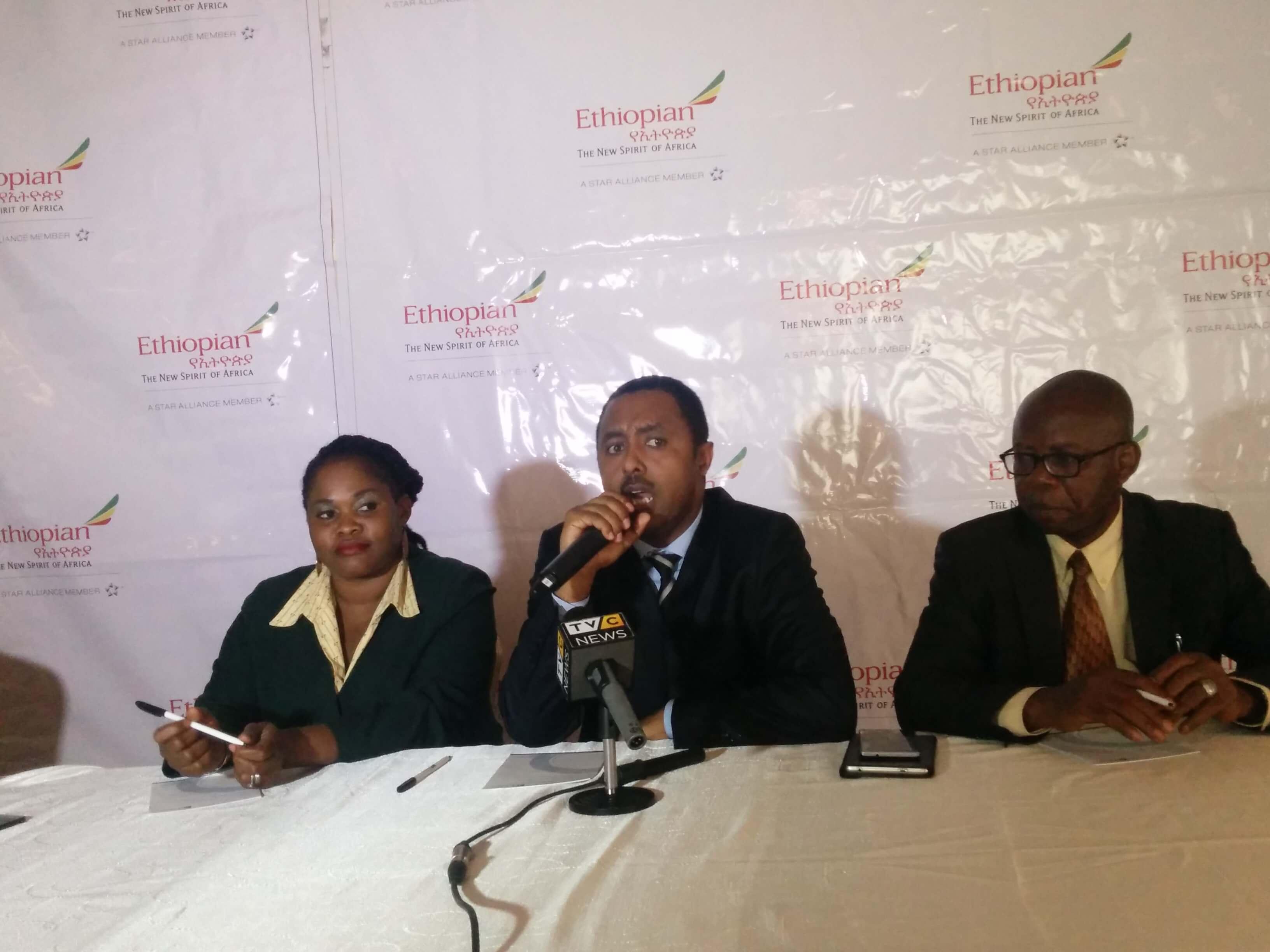 Solomon Begashaw, Country Area Manager Nigeria, Ethiopian Airline