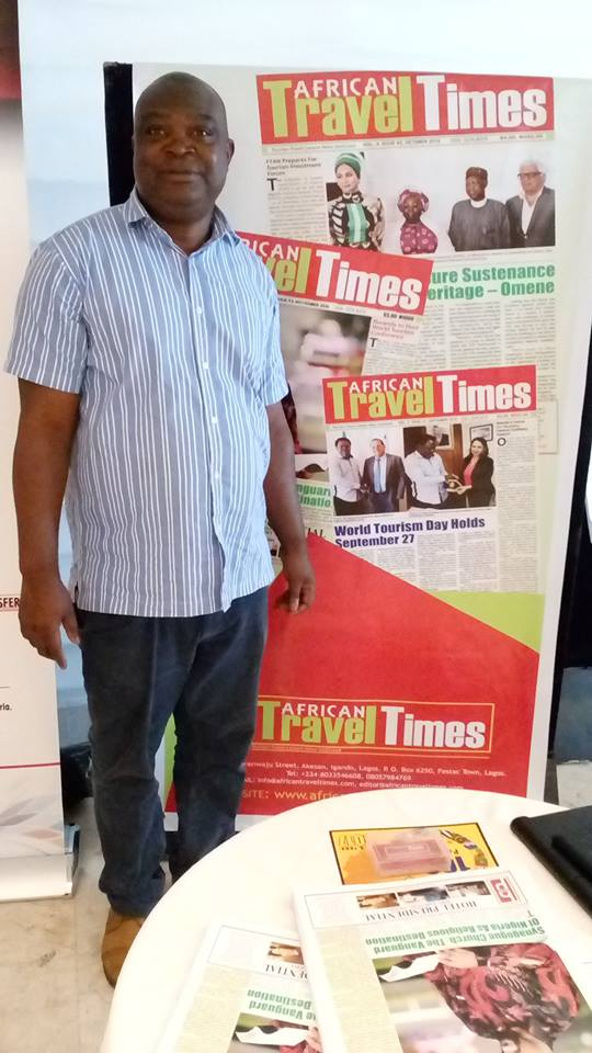 Lucky George, publisher, African Travel Times