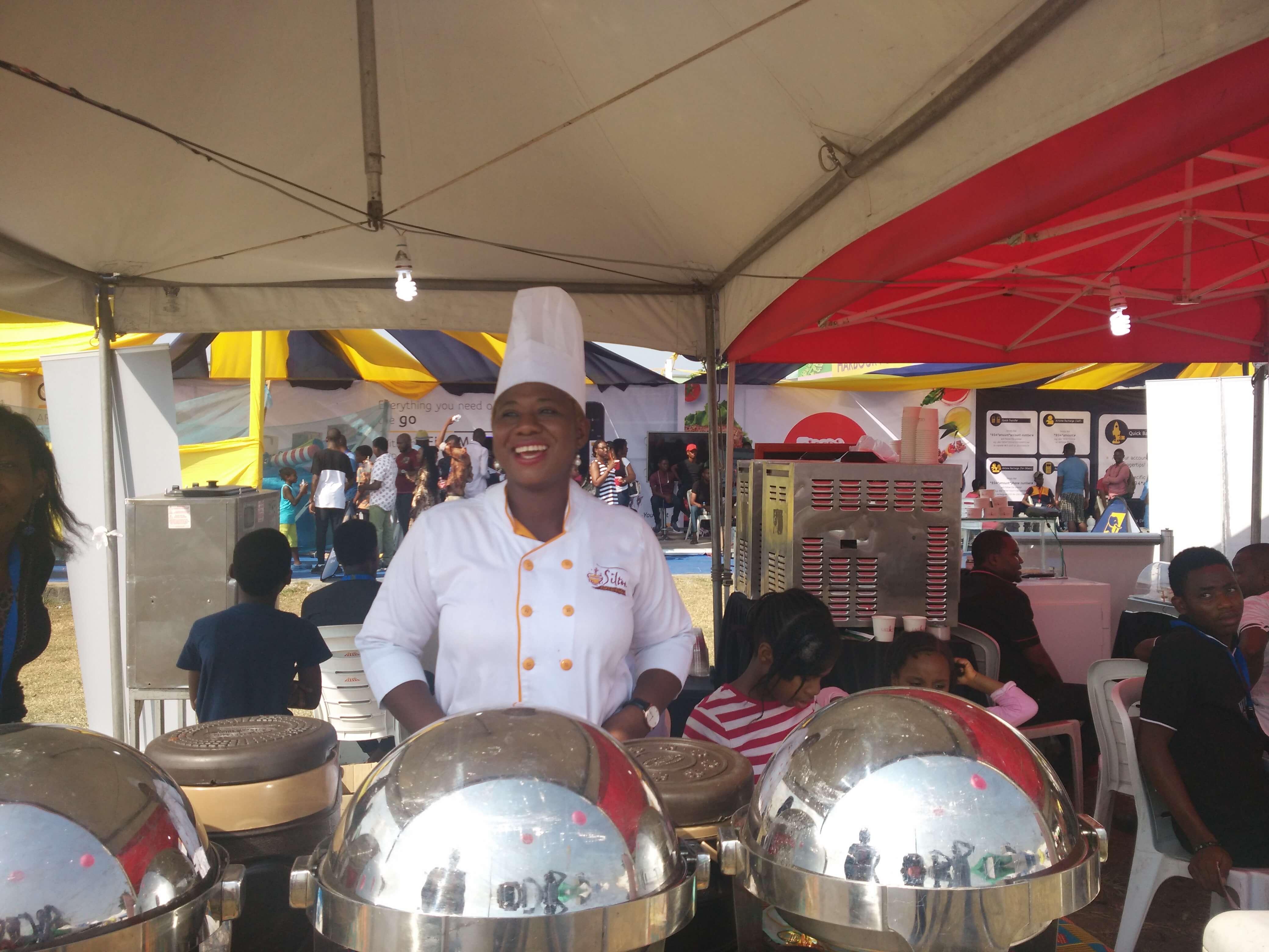 Anthonia Ojenagbon, founder, Silton Africa Kitchen