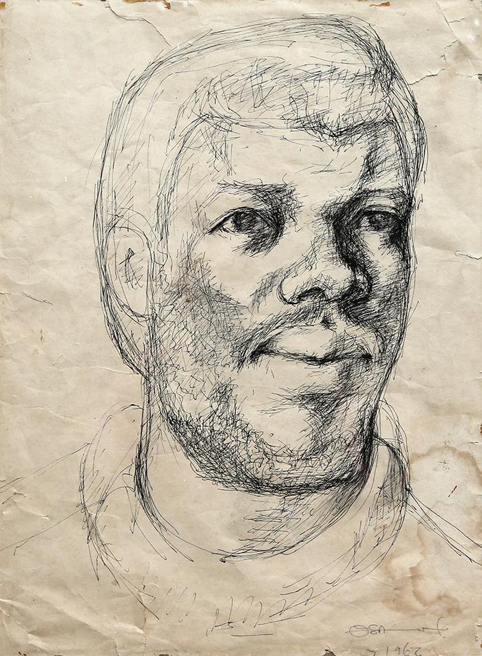Self Portrait by Ben Osawe