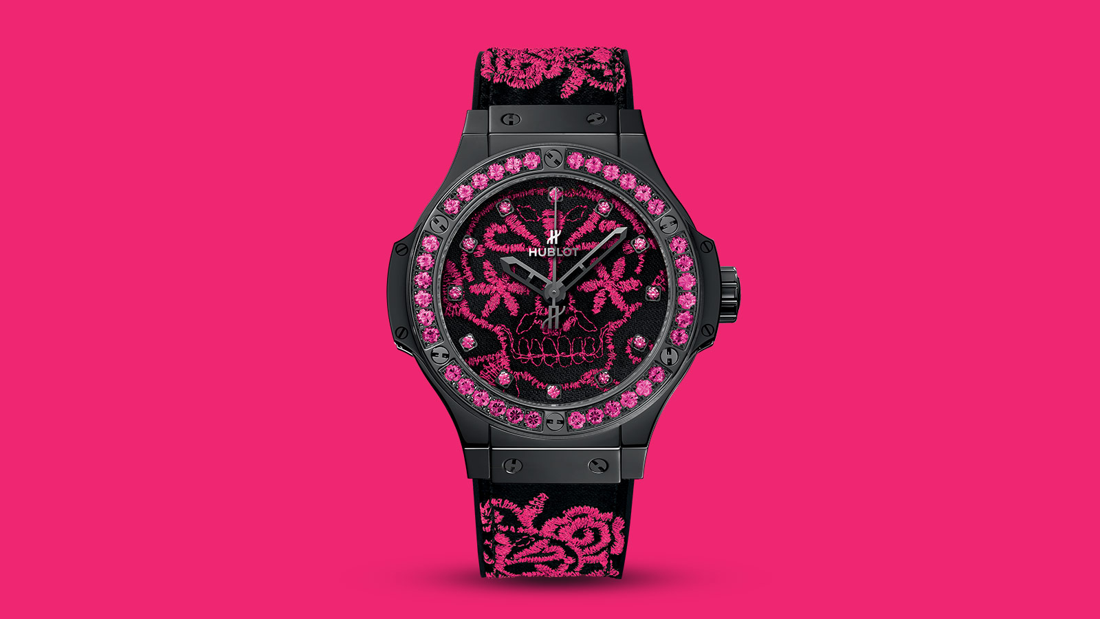 Hublot Big Bang Broderie Sugar Skull Fluo Collection