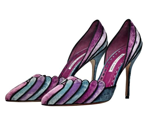 Manolo Blahnik Egipane Shoes