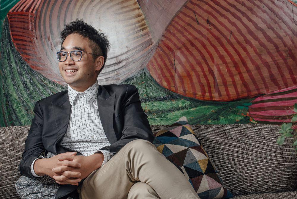 Adrian Cheng. Photographer: Calvin Sit/Bloomberg