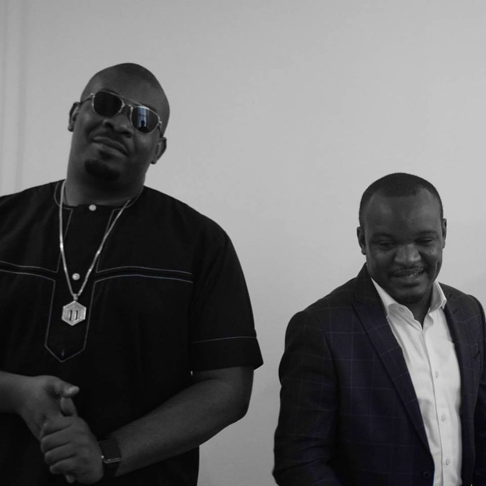 Don Jazzy with Dele Odufuye