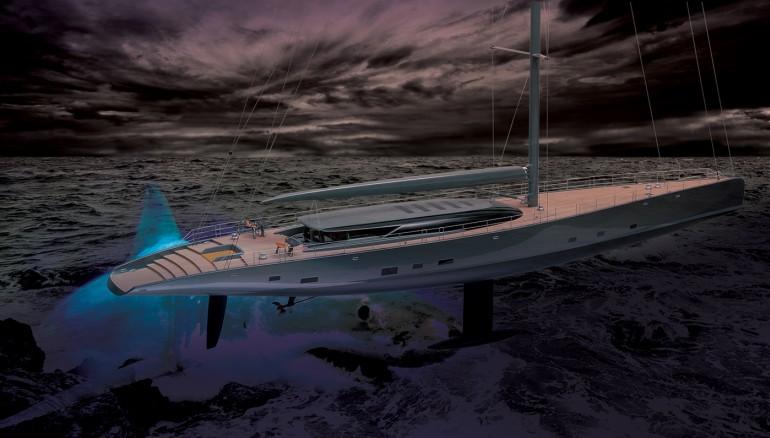 Royal Huisman's 190-Foot Sailing Yacht