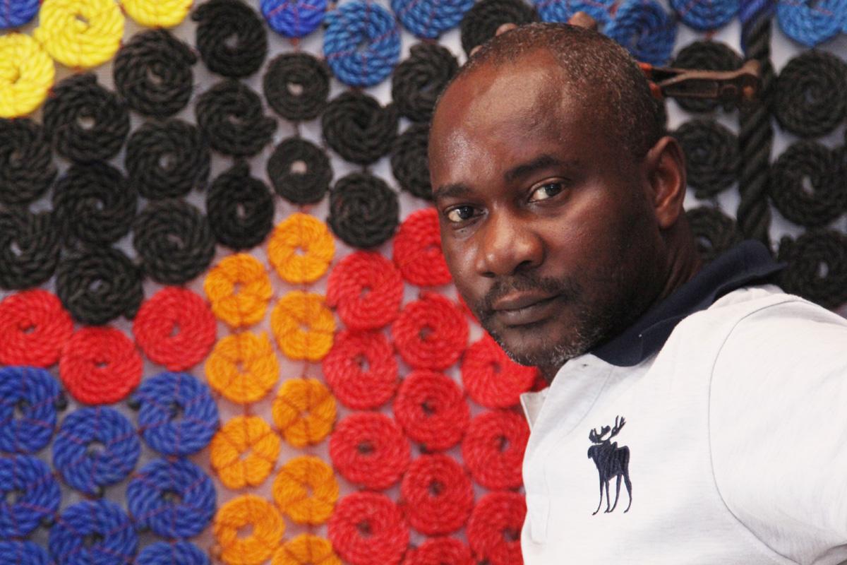 Tayo Olayode, photo by Adeyinka Akingbade, 2017