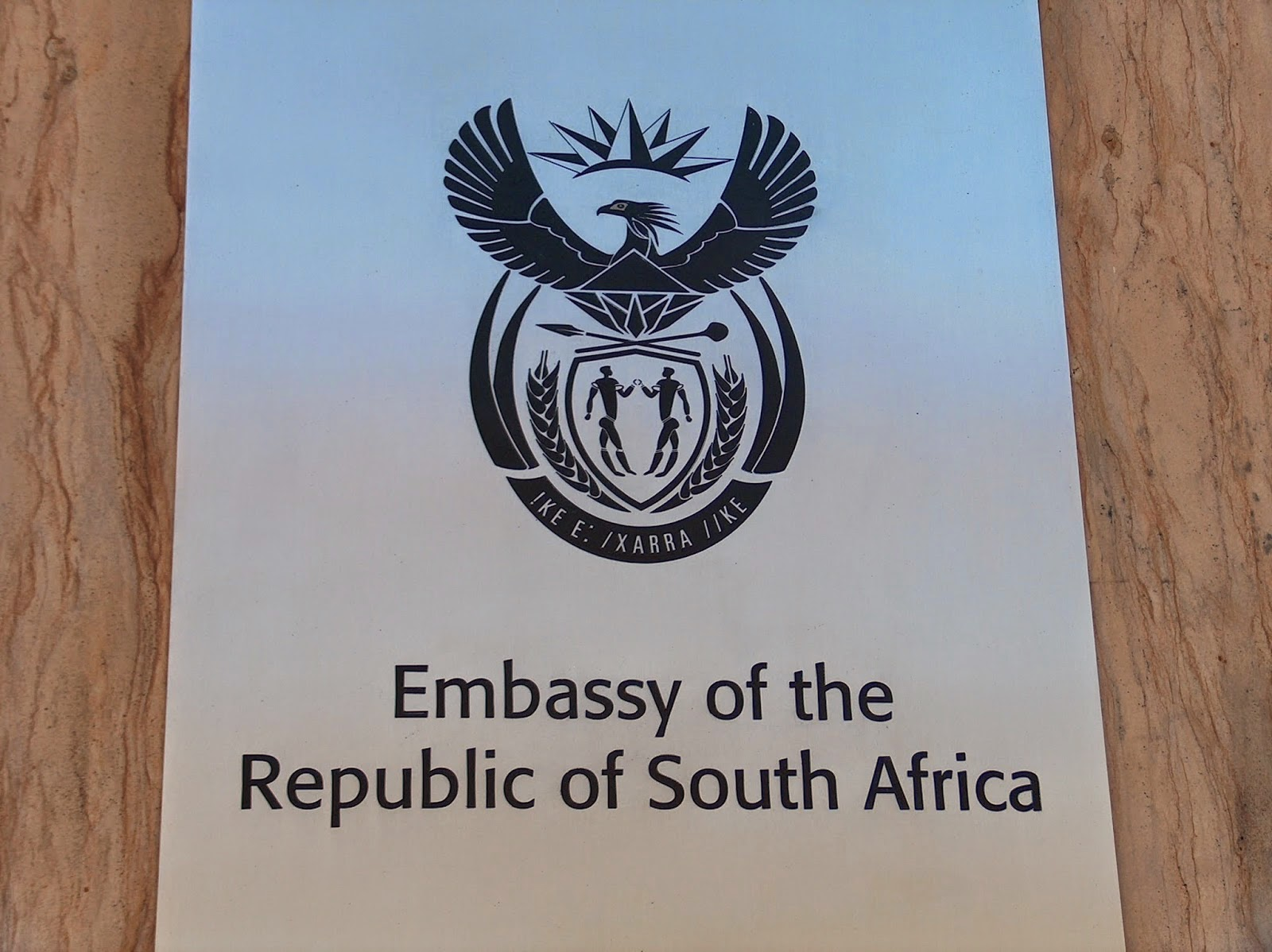 South Africa embassy