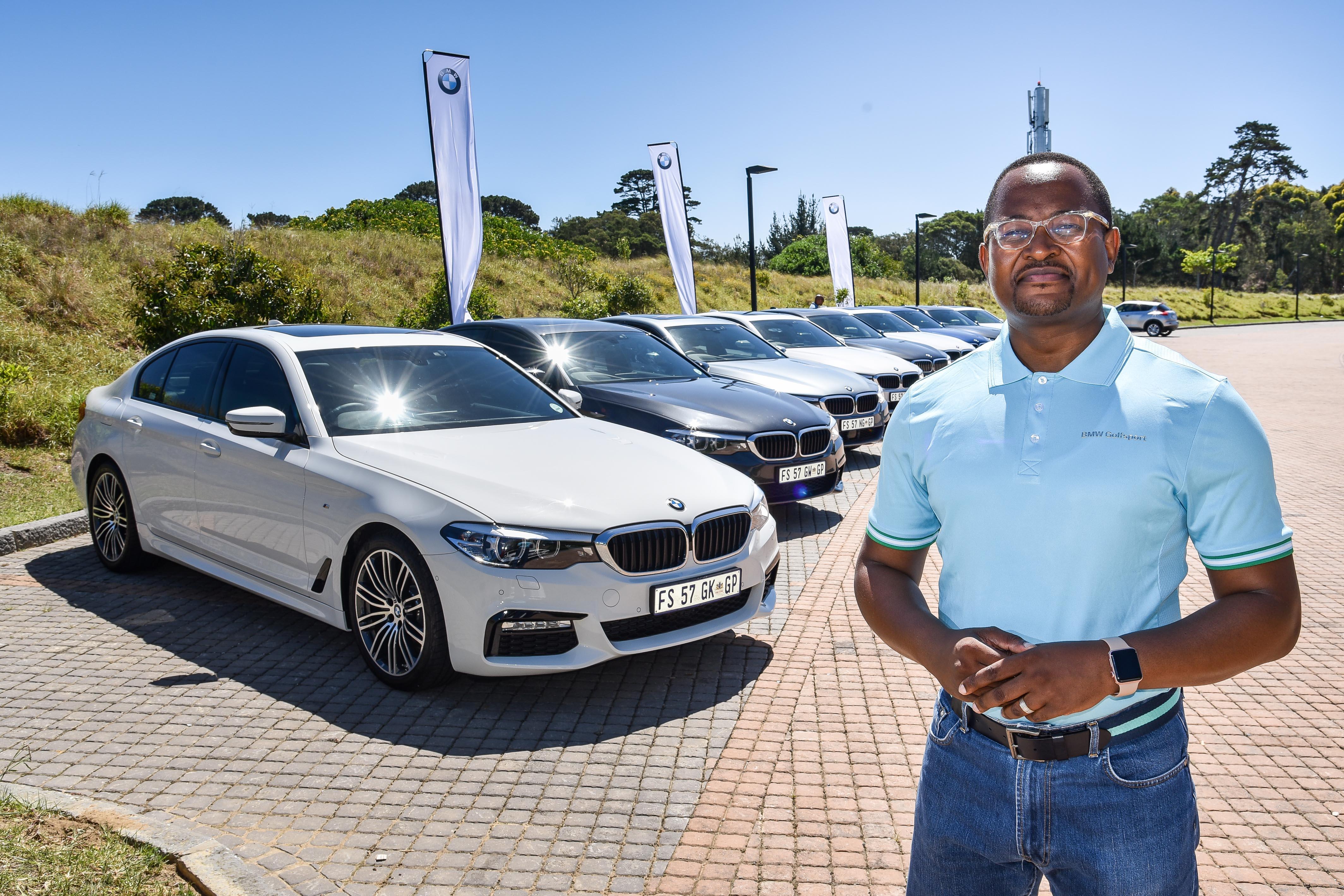 Edward Makawana, communications manager, BMW, South Africa