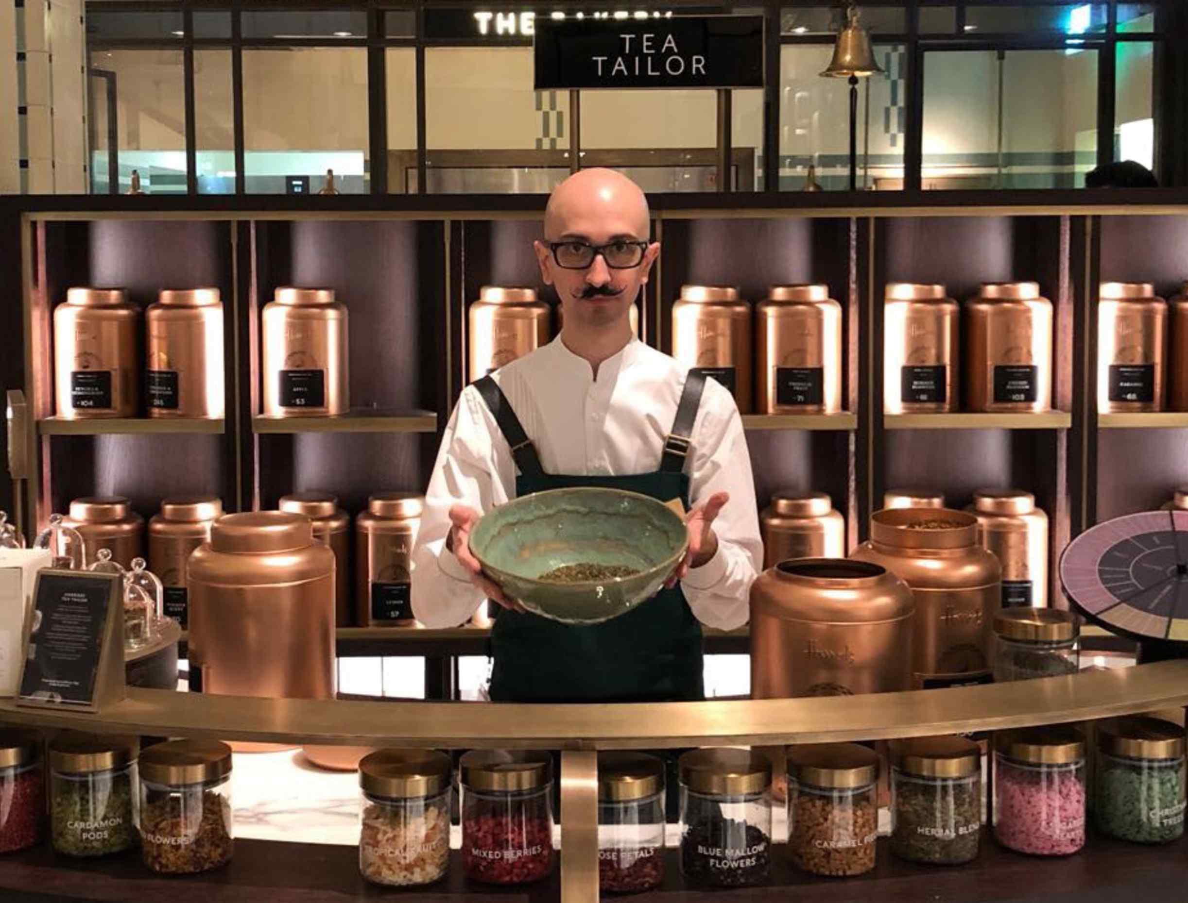 Harrods Tea Tailor