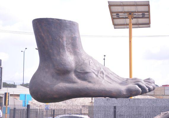 Big Foot at Ojodu Berger, Lagos.