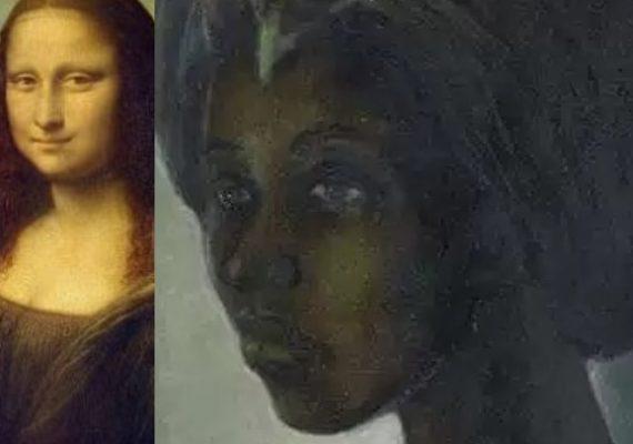 Ben Enwonwu Tutu and Leonardo da Vinci Mona Lisa