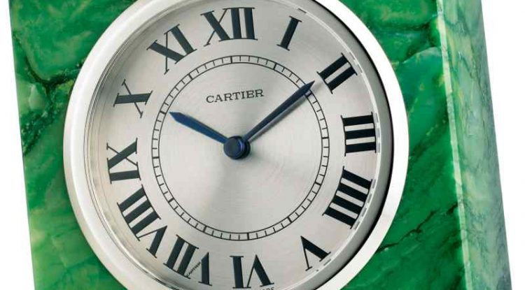 Cartier Has A Clock For Your Home Too