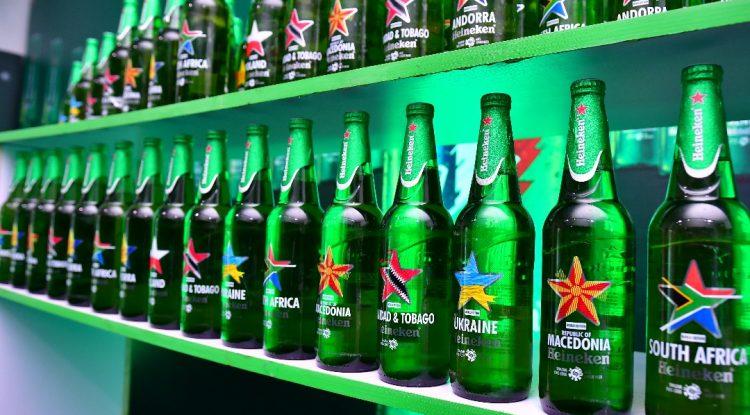 Heineken limited edition bottle