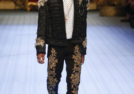 Wizkid for Dolce and Gabbana
