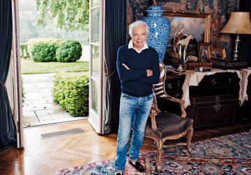 Ralph Lauren at home in Westchester County, New York | Image: Weston Wells
