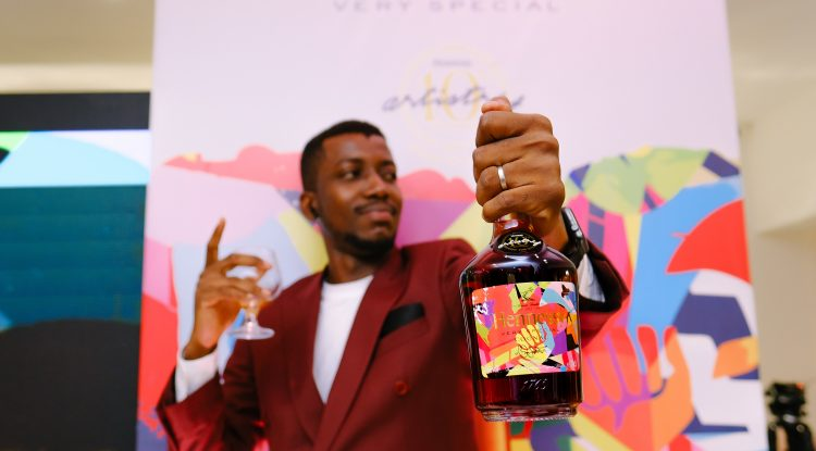 Hennessy limited edition cognac