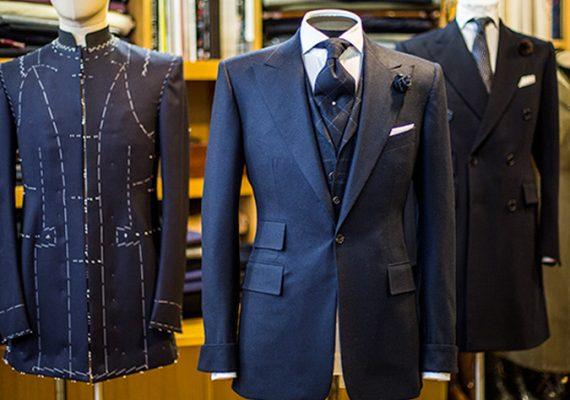Savile Row bespoke suit