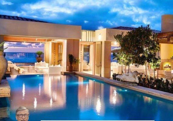 Bill Gates' New Mansion Is Breathtaking