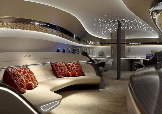 Inside Boeing Business Jet