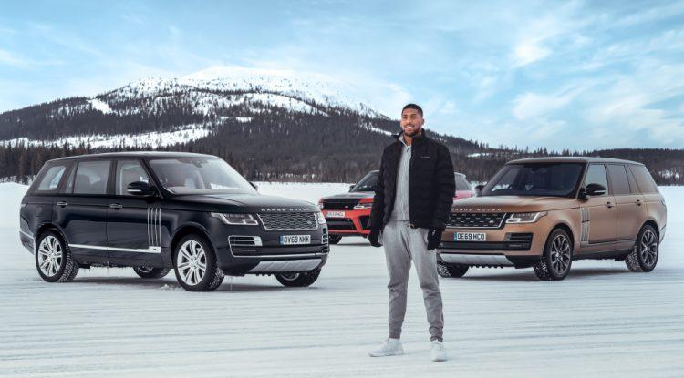 Anthony Joshua Range Rover