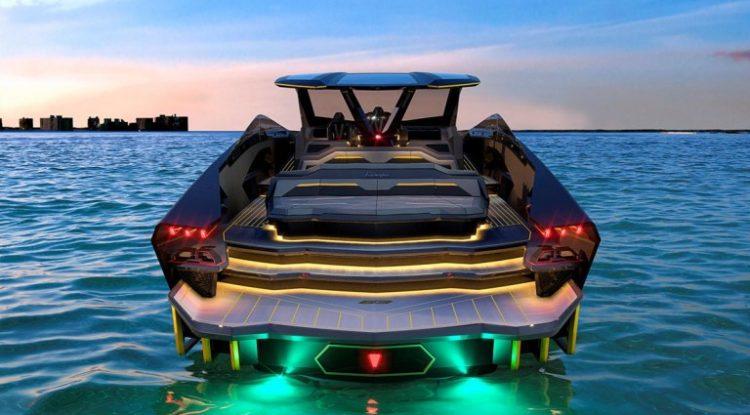 Lamborghini superyacht