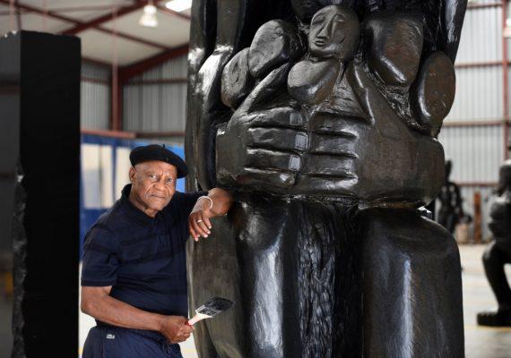 The South African artist Pitika Ntuli