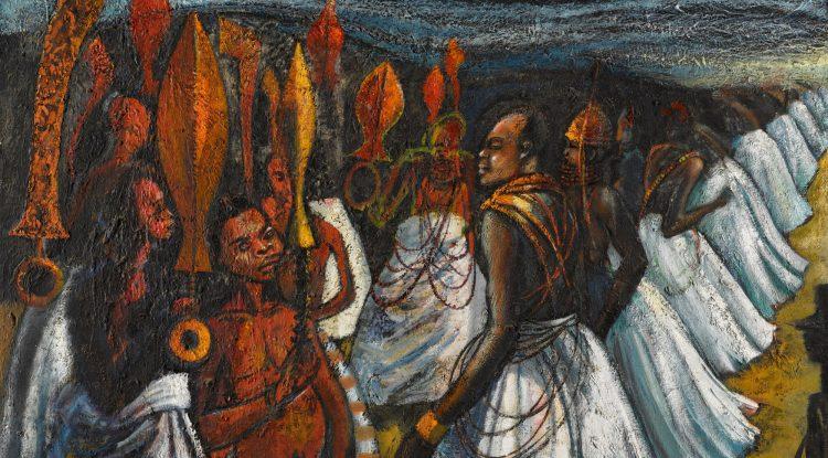 Ben-Enwonwu-The-Court-of-the-Oba-of-Benin.