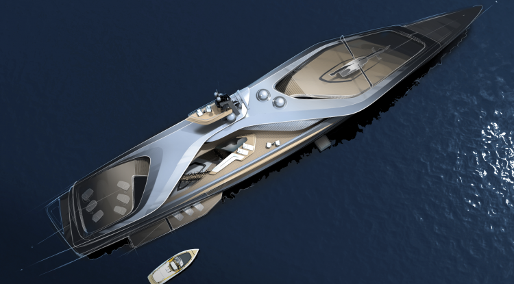 Oceanco, Pininfarina, Lateral Collaborate To Modify Yacht Design With Kairos